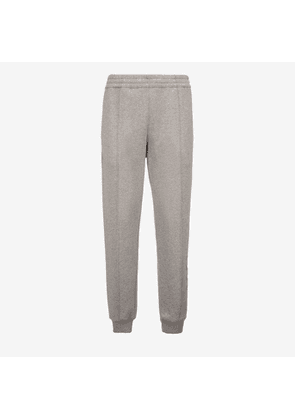 Bally 1851 Cotton Tracksuit Trousers Grey, Men's cotton fleece trousers in grey melange