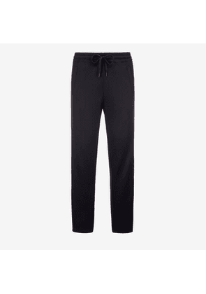 Bally Techno Jersey Tracksuit Trousers Blue, Men's techno jersey trousers in navy