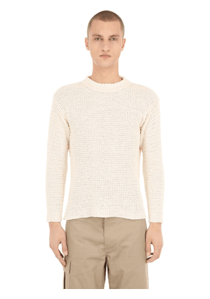 Pablo Cotton Blend Knit Sweater
