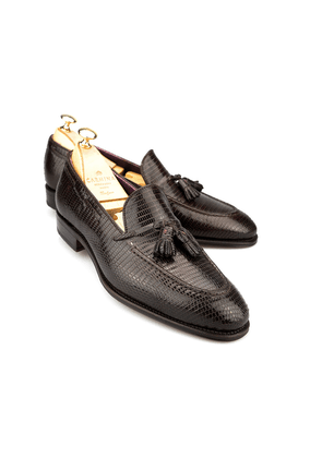 aed25e9d698 Carmina Brown Leather Tassel Loafers