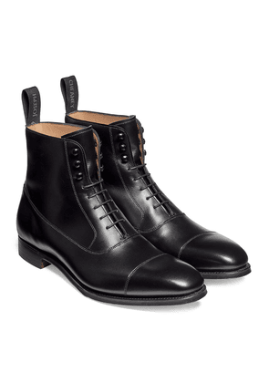 Cheaney Black Leather Brixworth Balmoral Boot