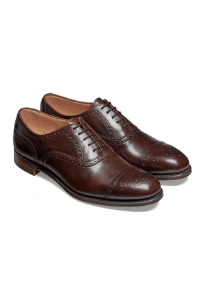 Cheaney Burnished Mocha Wilfred Oxford Brogues