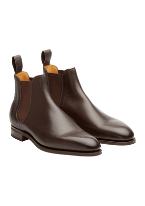Edward Green Dark Brown Leather Camden Chelsea Boots