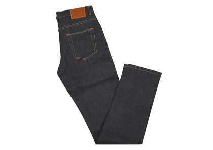Indigo E5 Relaxed Tapered 14oz Selvedge Denim Jean