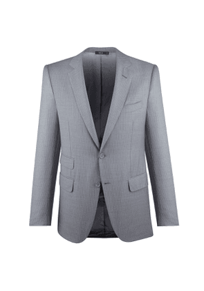 Cifonelli Light Grey Stripe Single-Breasted Three-Piece Suit