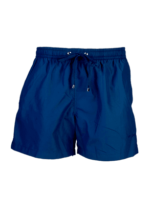 Belsire Navy Fast-Dry Polyester Swimming Shorts
