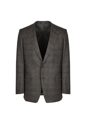 Chester Barrie Vintage Brown Overcheck Suit