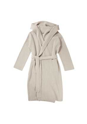 Connolly Ecru Cashmere Dressing Gown