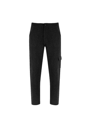 Chillworks Grey Cashmere Sant Ambrogio Knitted Trousers