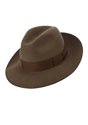 Lock & Co. Hatters Khaki St James's Felt Fedora