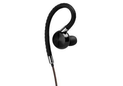 Black ODS-1 Odyssee In-Ear Leather and Aluminium Headphones