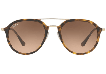 Ray-Ban Tortoiseshell and Gold Frames with Brown Lenses Sunglasses RB4253 710/A5