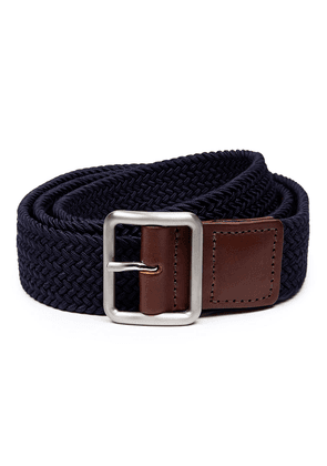 Shackleton Navy Nylon Woven Belt