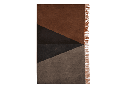 Brown Cashmere Arran Throw