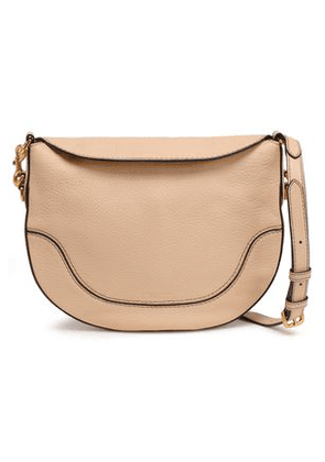 Marc Jacobs Woman Textured-leather Shoulder Bag Cream Size -
