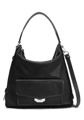 Rag & Bone Woman Leather Shoulder Bag Black Size -