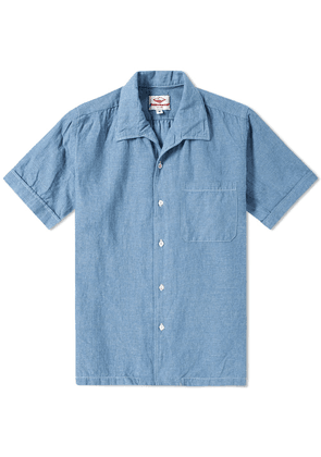 Battenwear Zuma Shirt Light Indigo