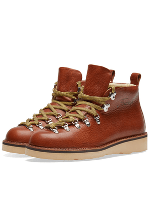 Fracap M120 Natural Vibram Sole Scarponcino Boot Brandy