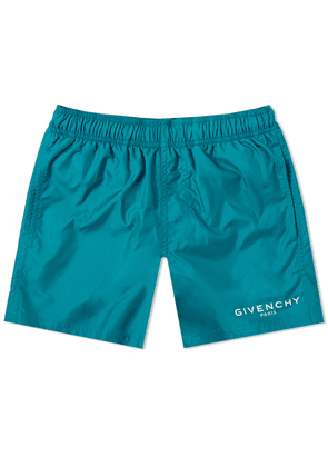 Givenchy Logo Swim Short Bright Green