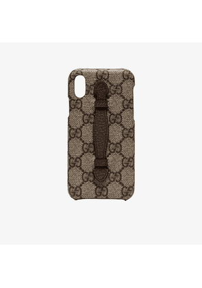 Gucci Vintage Monogram iPhone X Phone Case