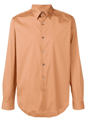 Theory Sylvain Wealth shirt - Brown