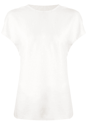 Dion Lee corrugated pleated top - White