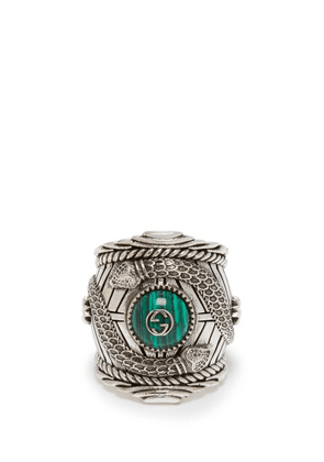 Gucci - Large Gucci Garden Ring - Mens - Silver