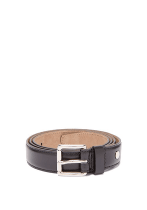 Ami - Leather Belt - Mens - Black