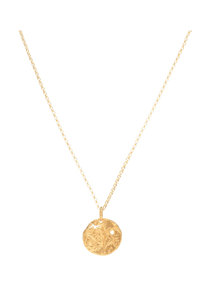 The Unspoken Trust 24kt gold-plated necklace