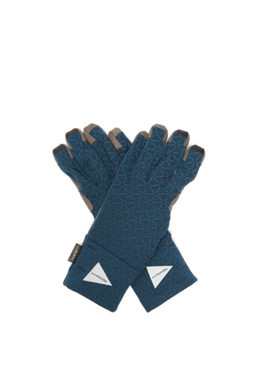 And Wander - Polartec® Climbing Gloves - Mens - Blue
