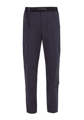 And Wander - Mid Rise Technical Trousers - Mens - Navy