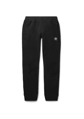 adidas Originals - Logo-embroidered Cotton-jersey Sweatpants - Black