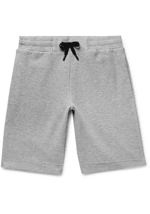 Theory - Relax Mélange Terry Drawstring Shorts - Gray