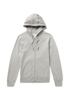 Reigning Champ - Mélange Loopback Pima Cotton-jersey Zip-up Hoodie - Gray