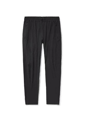 Reigning Champ - Tapered Stretch-nylon Sweatpants - Black