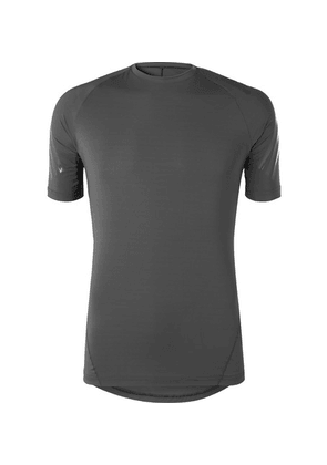 Adidas Sport - Ask Tec Climachill Stretch-jersey T-shirt - Gray