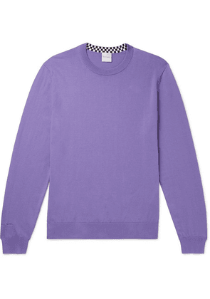 Paul Smith - Cotton Sweater - Lilac