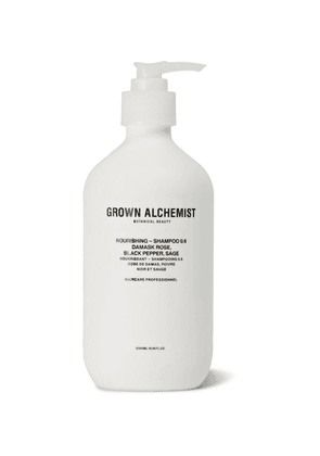 Grown Alchemist - Nourishing Shampoo 0.6 - Damask Rose, Black Pepper And Sage, 500ml - Colorless