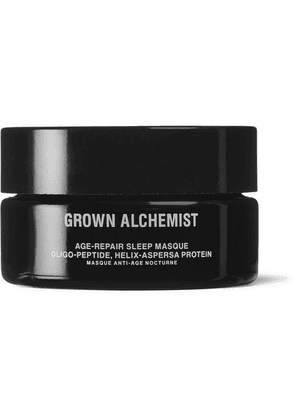 Grown Alchemist - Age-repair Sleep Masque - Oligo-peptide Helix-aspersa Protein, 40ml - Colorless