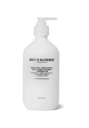 Grown Alchemist - Nourishing Conditioner 0.6 -  Damask Rose, Camomile And Lavender Stem, 500ml - Colorless