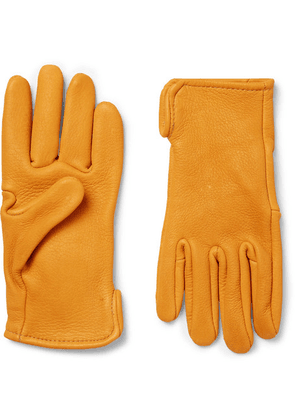 Best Made Company - Roper Leather Gloves - Mustard