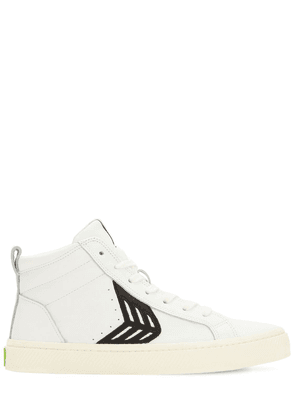 Catiba Leather High Top Sneakers