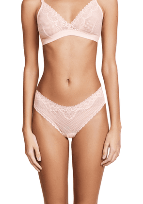 Commando Perfect Stretch Lace Thong