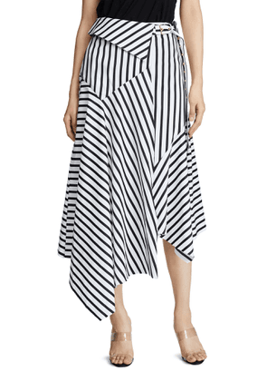 Marques Almeida Striped Wrap Skirt