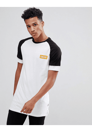 Jack & Jones Core T-Shirt With Layered Sleeve Detail