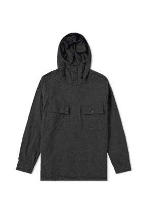 Engineered Garments Cagoule Shirt Jacket Charcoal Heather Flannel