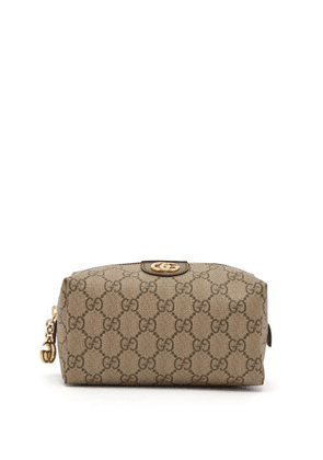 Gucci - Ophidia Gg Supreme Canvas Make Up Bag - Womens - Brown Multi