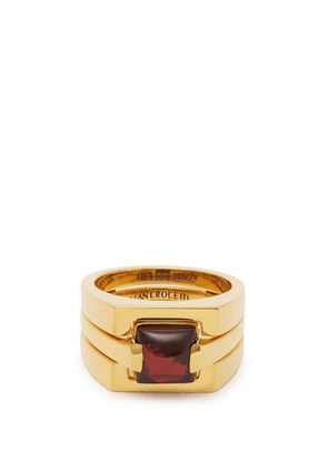 Alan Crocetti - Puzzle 18kt Gold Ring - Mens - Gold