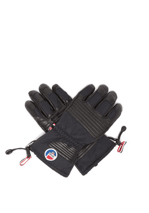 Fusalp - Albinen Leather Panel Gloves - Mens - Black