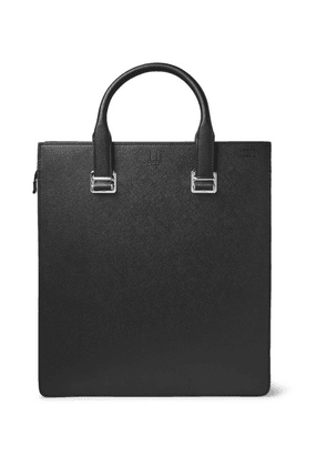 Dunhill - Cadogan Pebble-grain Leather Tote Bag - Black